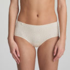 Woman wearing Marie Jo L'Aventure Tom G Rio Brief in Pearled Ivory