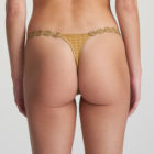 Back image of Woman wearing Marie Jo Avero Gold Daisy Gstring