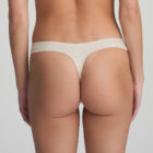 Back image of Marie Jo L'Aventure Tom G String in Pearled Ivory