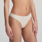Side image of Marie Jo L'Aventure Tom G String in Pearled Ivory