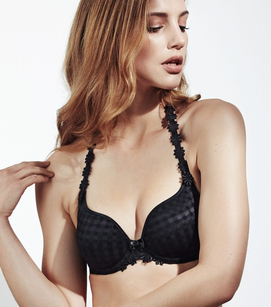 Preformed Plunge Bra (Heart shape)-7798