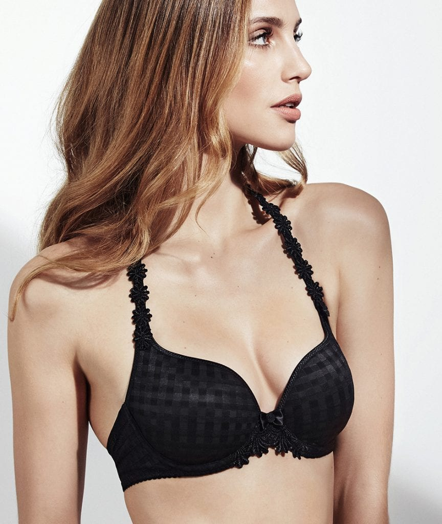 Preformed Plunge Bra (Heart shape)-7851