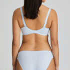 Deauville Heather Blue Rio Brief and Bra back view