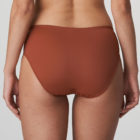 Back image of Woman wearing Prima Donna Deauville in Cinnamon Red Full Brief