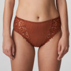 Front image of Prima Donna Deauville in Cinnamon Red Full Brief