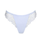 Front of Deauville Heather Blue G-String