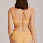 The back of Madison Mango Full Cup Bra and Brief