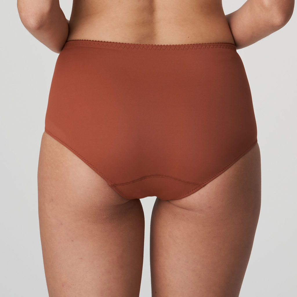 Back image of Prima Donna Deauville in Cinnamon Red Shorts Brief
