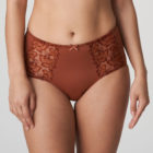 Front image of Prima Donna Deauville in Cinnamon Red Shorts Brief
