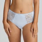 Deauville Heather Blue Short Brief close up front view