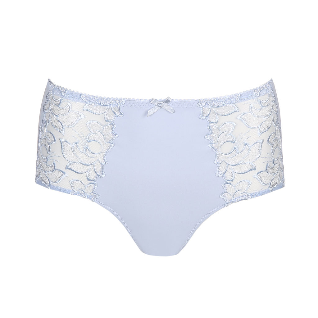 Deauville Heather Blue Short Brief