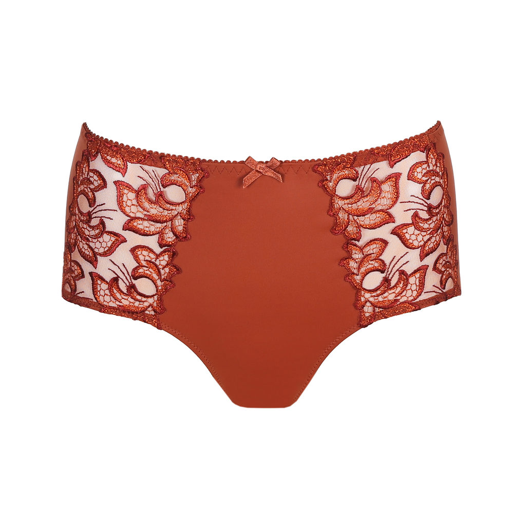 Prima Donna Deauville in Cinnamon Red Shorts Brief