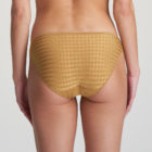 Back image of woman wearing Marie Jo Avero Gold Rio Brief
