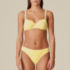 Mary Jo Avero Pineapple G-string and balconnet bra