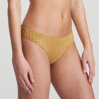 Woman wearing Marie Jo Avero Gold Rio Brief