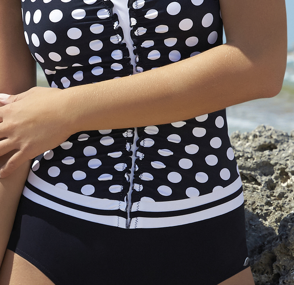 Ruched Swimsuit-10744