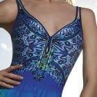 V-Neck Swimsuit -10734