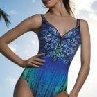 V-Neck Swimsuit -0