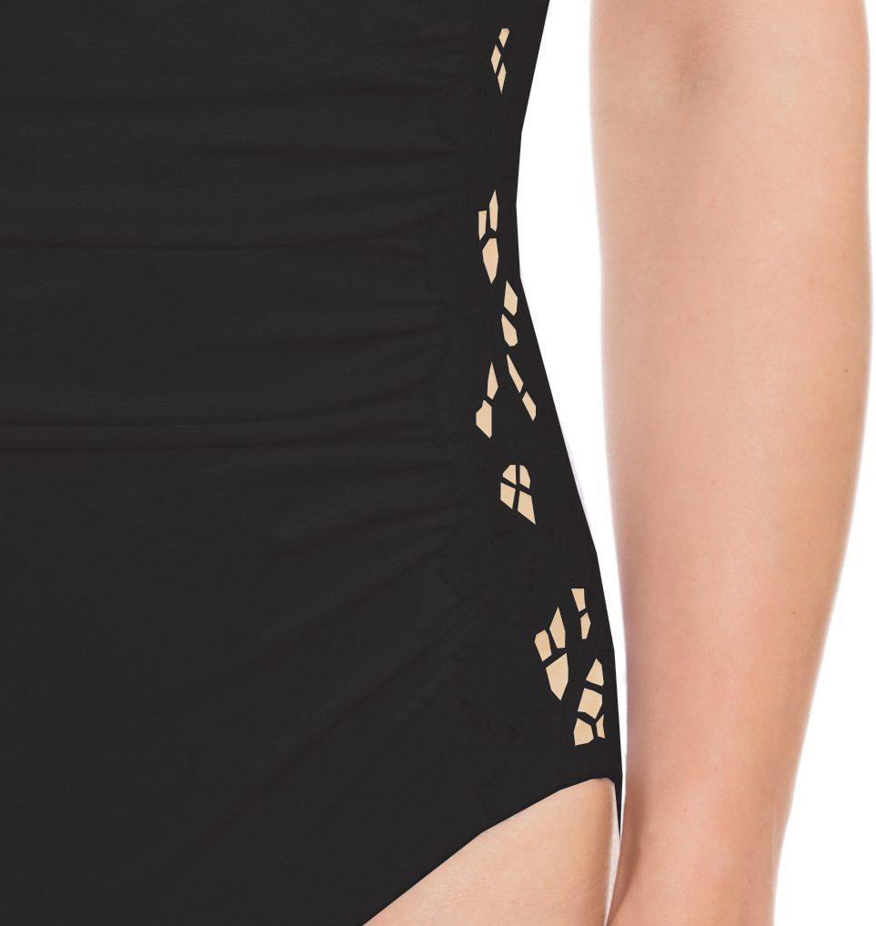 Lace Side Swimsuit-12290