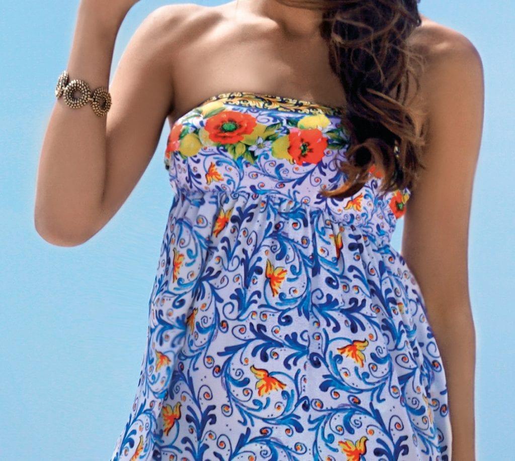 Maxi Bandeau Sun Dress-12473