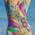 V-Neck Swimsuit-0
