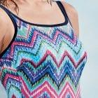 Close up image Anita Venedig Mastectomy Swimsuit