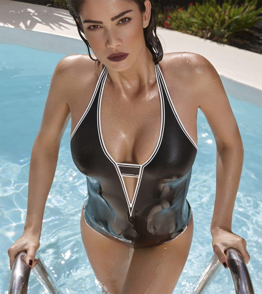 Deep V Swimsuit-13271
