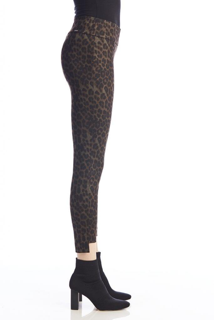 Leopard Step Hem Trouser-13460