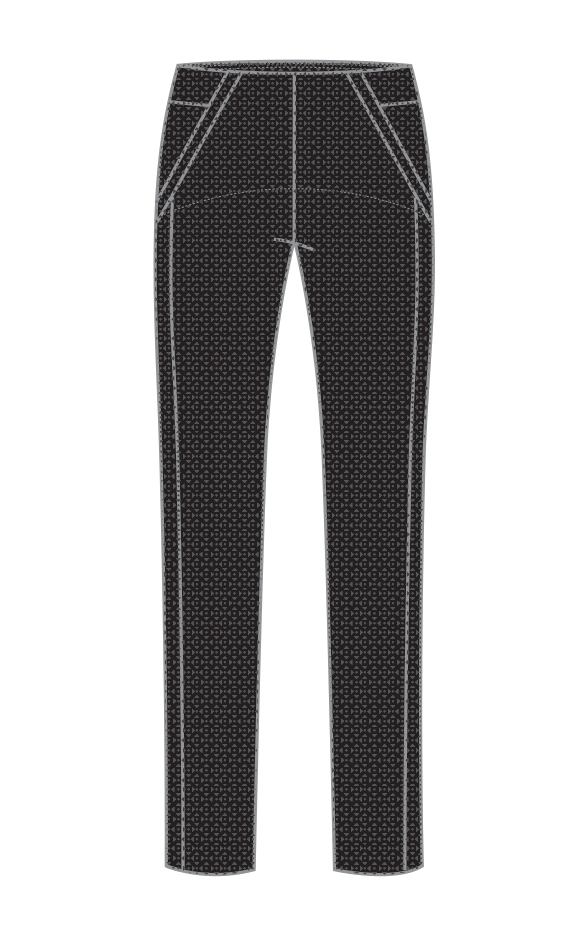 Pull-on stretch trouser-13573