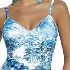 V Neck Swimsuit -14003