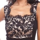 Wool & Silk Lace Cami - SALE-13801
