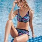 Woman wearing Anita Odessa Mastectomy Bikini