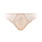 Lise Charmel Dressing Floral Italian Brief in Nacre Skin Colour