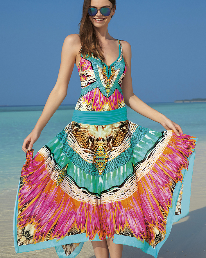 sunflair- oriental dream dress