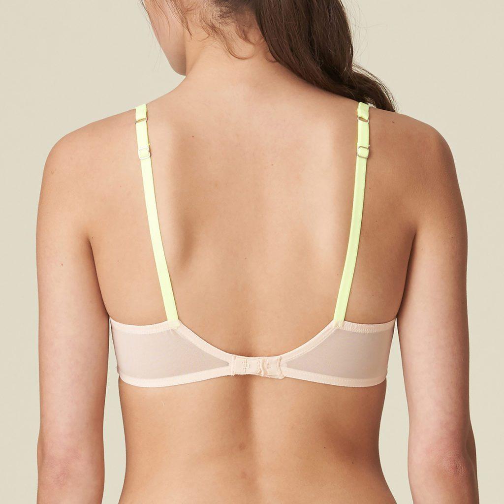 Back view of Alexander bra
