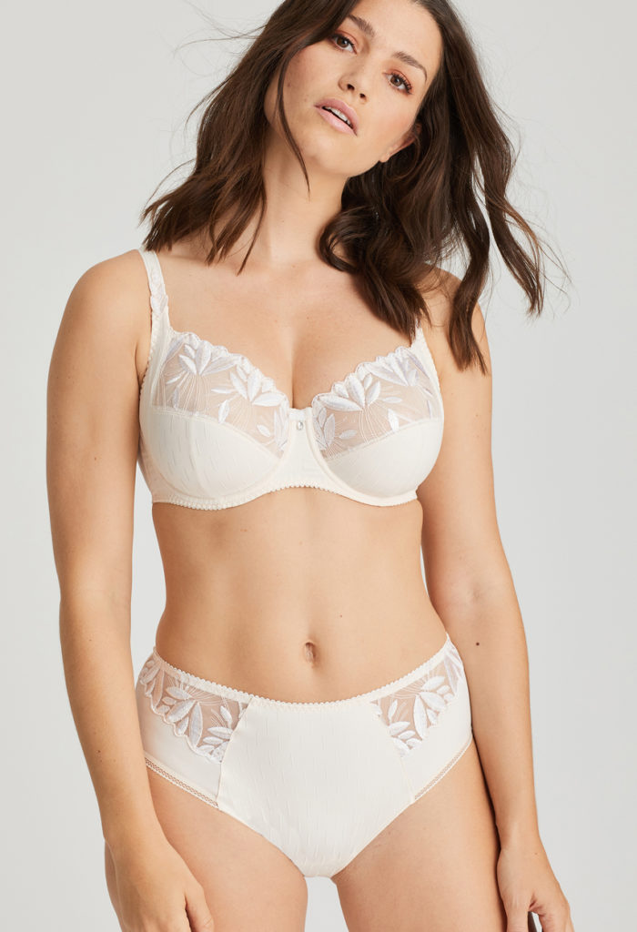Orlando Geisha brief and full cup bra