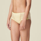 Shorty brief in fluresent yellow