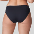Back image of woman wearing Prima Donna Orlando Night Blue Rio Brief