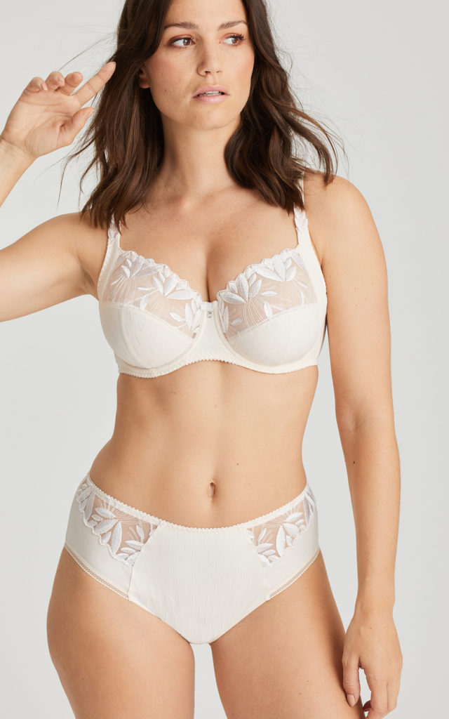 Orlando full brief and full cup bra