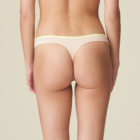 Rear view of limone g/string