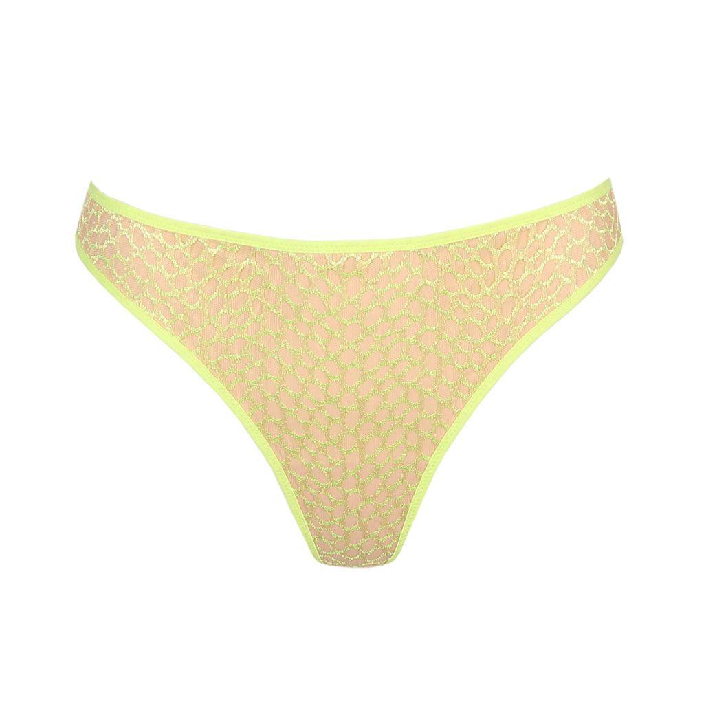 Fluorescent limone thong