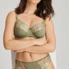 Orlando summer leaf bra and brief set
