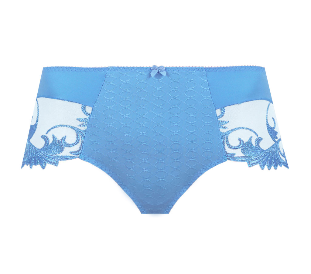 Thalia cornflour blue culotte, short brief by Empreinte