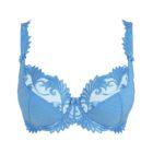 Thalia cornflour blue balconies bra by Empreinte