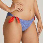 Tie sided bikini brief Jacaranda Blue