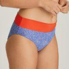 Fold down bikini brief Jacaranda Blue