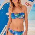 Strapless mastectomy bikini