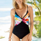 Aquarell flow swimwear
