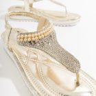 camille sparkling sandal