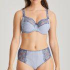 Prima Donna Nyssa full cup bra colour Indigofera with matching full brief
